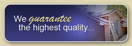 We guarantee the highest quality...